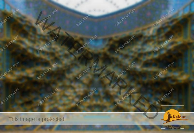 Mesmerizing Mosque Ceilings That Highlight The Wonders Of Islamic Architecture Fatima Masumeh Shrine Qom Iran.jpg