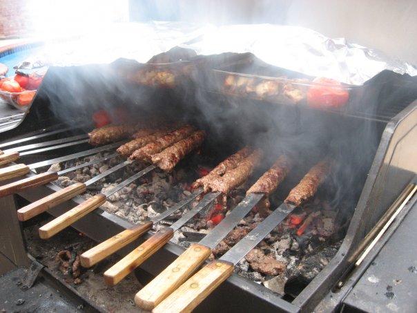 Kebab in Iranian Restaurants