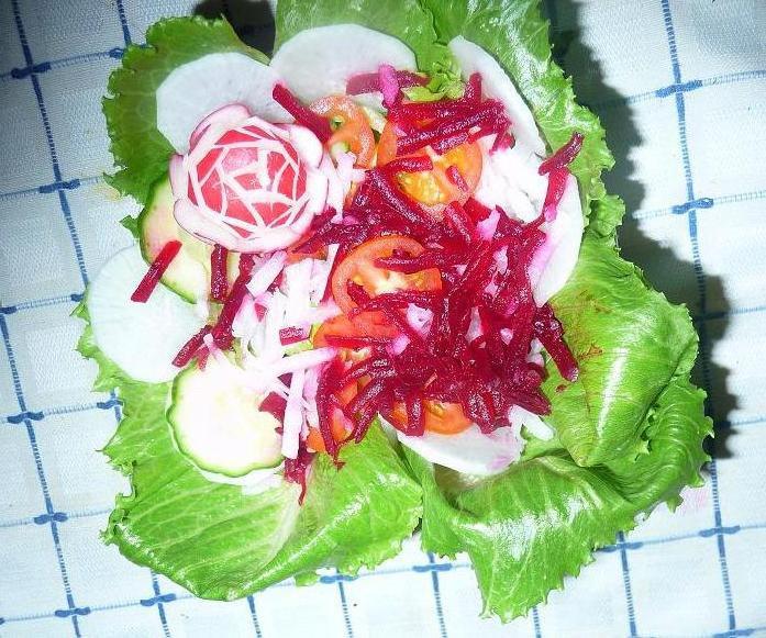 Salads in Iranian Restaurants