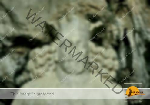 Shapur Statue inside Shapur Cave