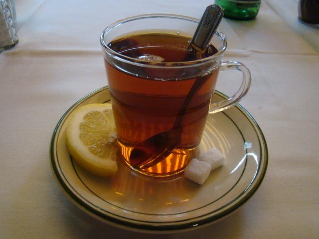 Tea in Iranian Restaurants