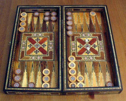 backgammon, an Iranian game