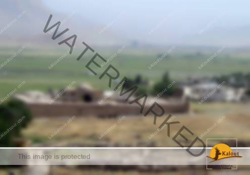 A general view of the remnants of Ilkhanids & Safavids' caravansaries