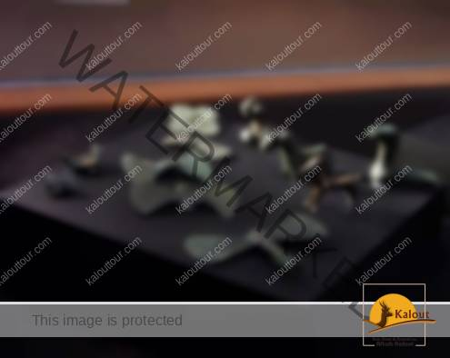 Iron & bronze tools and figurines from Khorvin