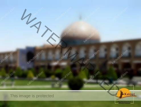 A View of Sheikh Lotfollah Mosque in Esfahan