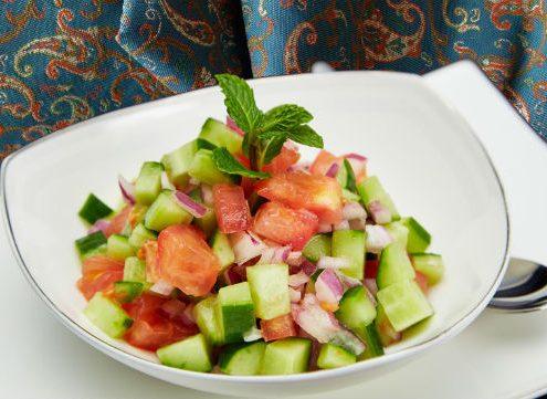 shirazi-salad-Iranian-appetizer