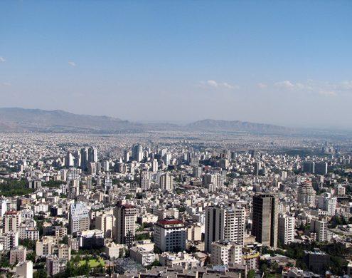 Tehran, the Capital City of Iran