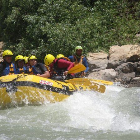 chalus rafting
