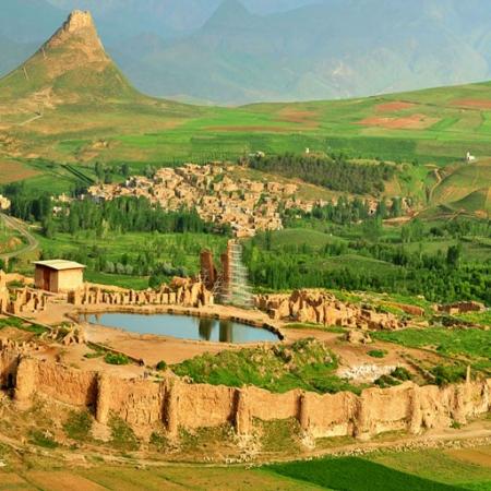 Takht-e-soleyman-iran-2-450x450 Iran Silk Road   Discover Persia Tour