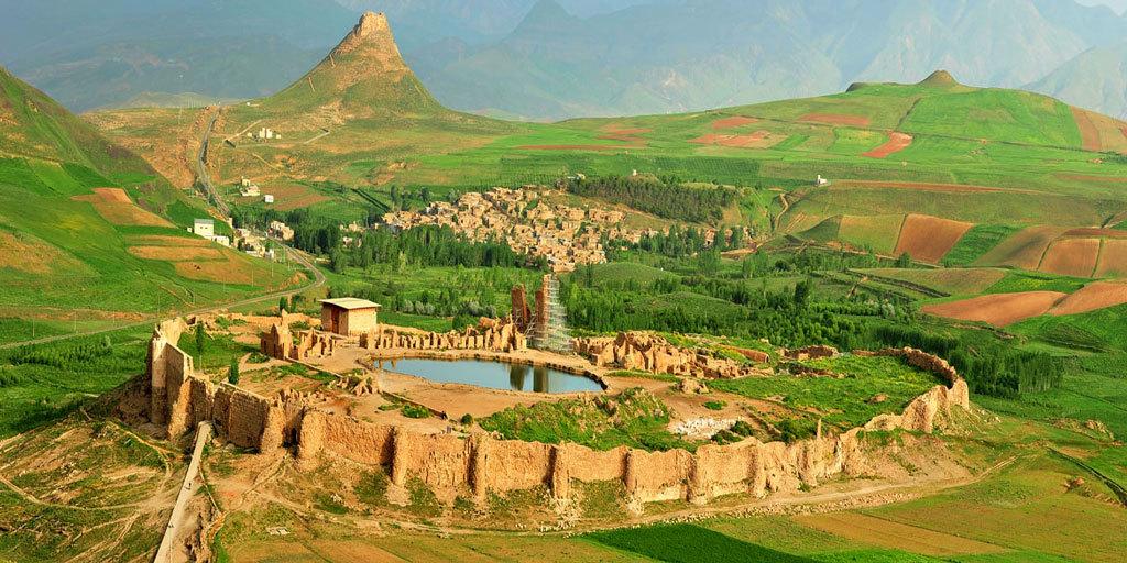 Takht-e-soleyman-iran-2 Iran Silk Road   Discover Persia Tour
