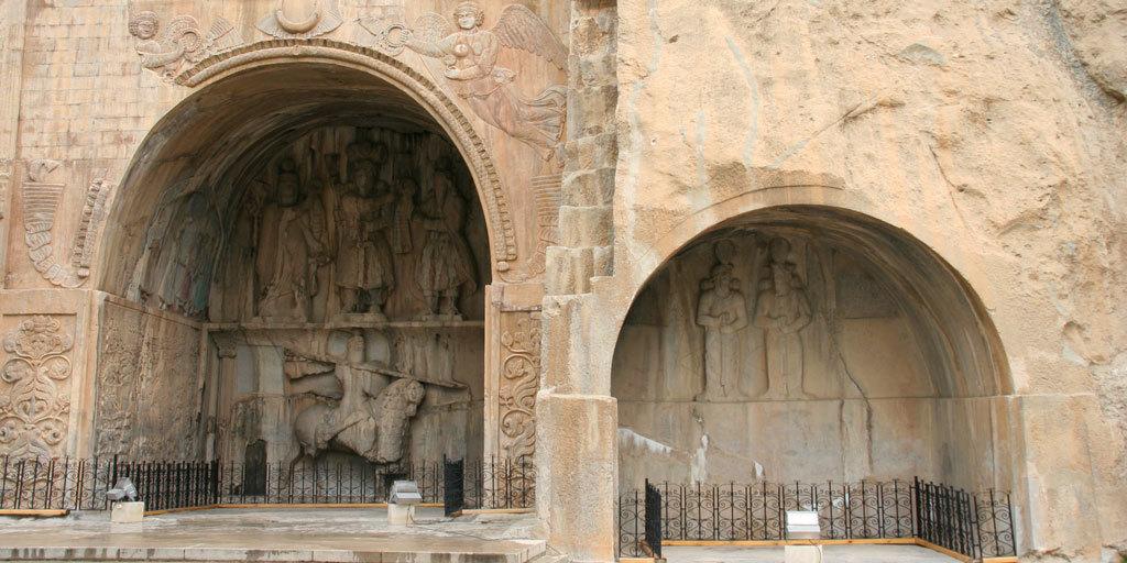 tagh-e-bostan-iran Iran Silk Road   Discover Persia Tour