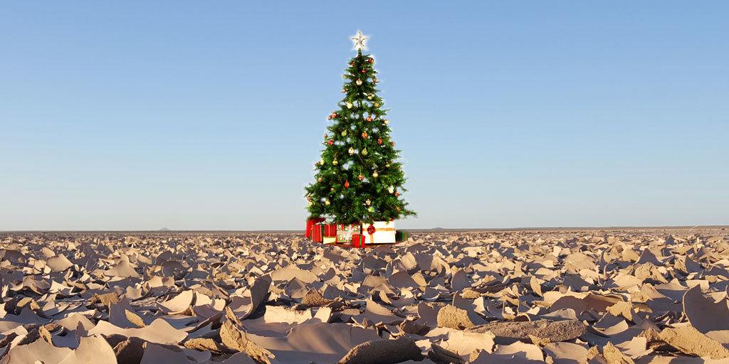 X-mas-lut-Desert X-Mas Holiday Land Maranjab Desert