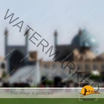 Vue de la Mosquée de l'Imam Khomeini à Ispahan