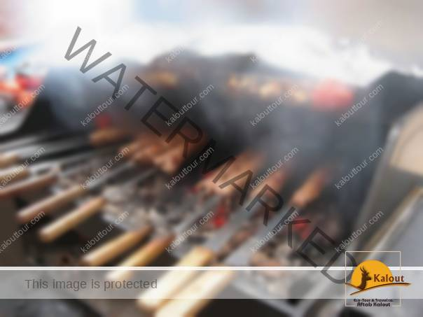 Kebab-in-Iranian-Restaurants What to Expect to Eat in Iranian Restaurants during Your Visit of Iran Visit Iran Traveling in Iran Iranian Restaurants Iranian Cuisine Iran Food About Iran