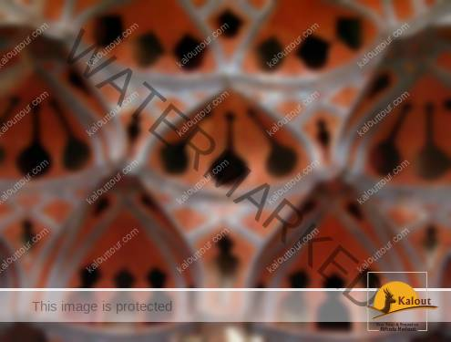 ceiling-aliqapou-palace-495x375 A Walking Tour of Esfahan in Half a Day Traveling in Iran Tourist Attractions Imam Komeini Square Esfahan