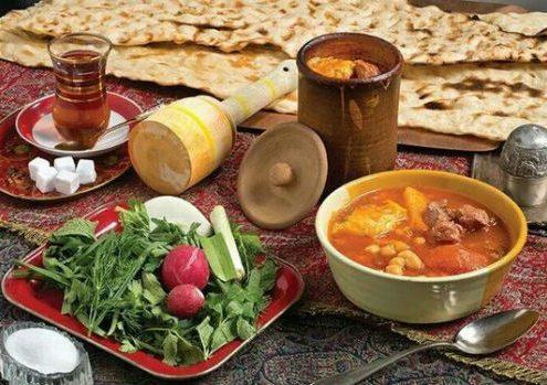 dizi-traditional-persian-dish-495x349 How to Cook and Serve Dizi  A Traditional Persian Dish Traditional Persian Dish Persian Food Iranian Traditional Food Iranian Gastronomy Iranian Cuisine Iran Food Dizi