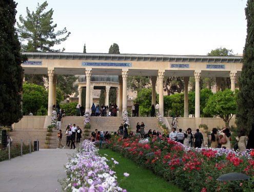 hafez-tomb-001-495x375 Visit Mausoleum of Hafez  the Persian Poet in Shiraz Tombs Shiraz Persian Poet Persian Language
