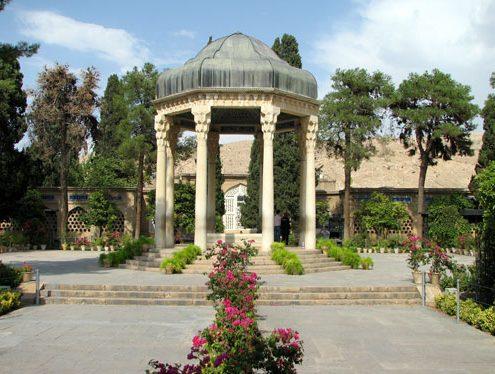 mausoleum-hafez-001-495x374 Visit Mausoleum of Hafez  the Persian Poet in Shiraz Tombs Shiraz Persian Poet Persian Language