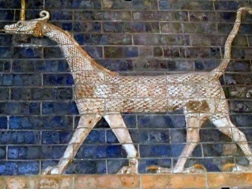 mushussu-ishtar-495x371 Remarkable Discovery of an Achaemenian Gateway Near Persepolis Persian Gardens Persepolis News Iran Empire Archaeological Excavation in Iran Achaemenians