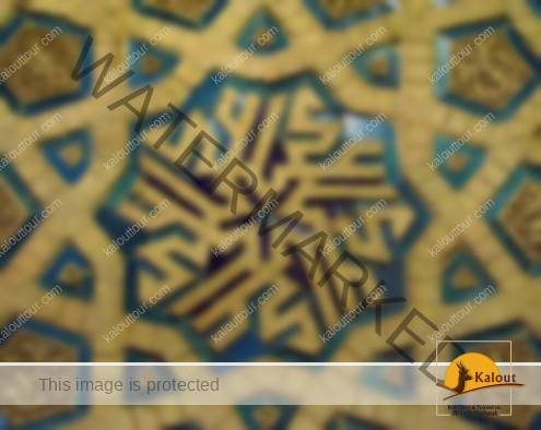soltaniyeh-glazed-bricks-495x394 A Short Visit to Soltaniyeh Mausoleum Islamic Arts Islamic Architecture Iranian Architecture Burial Structure