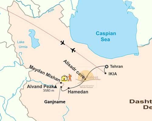 Hamedan-Map