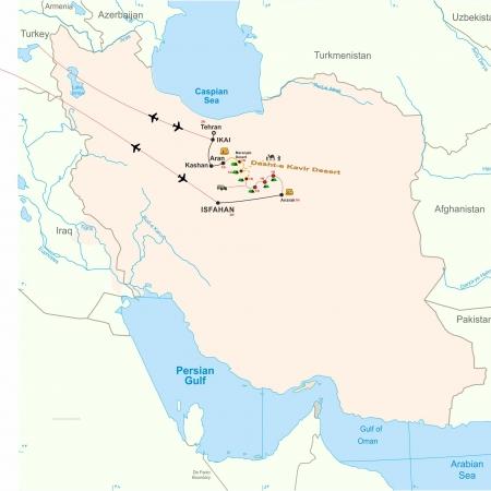 Iran Salt Desert