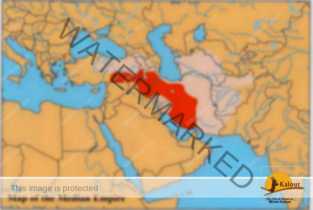 7030_55_70-median-empire-map History of Iran (7500 BC - 1979 AD) History of Iran