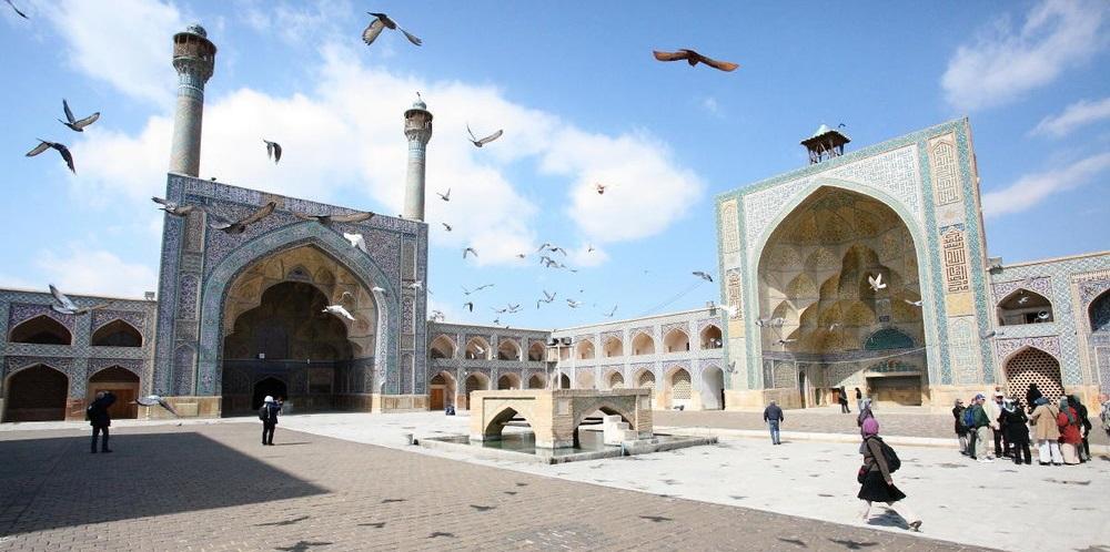 Jameh-Mosque Iran World Heritage Sites Uncategorized Iran World Heritage Sites Iran Culture