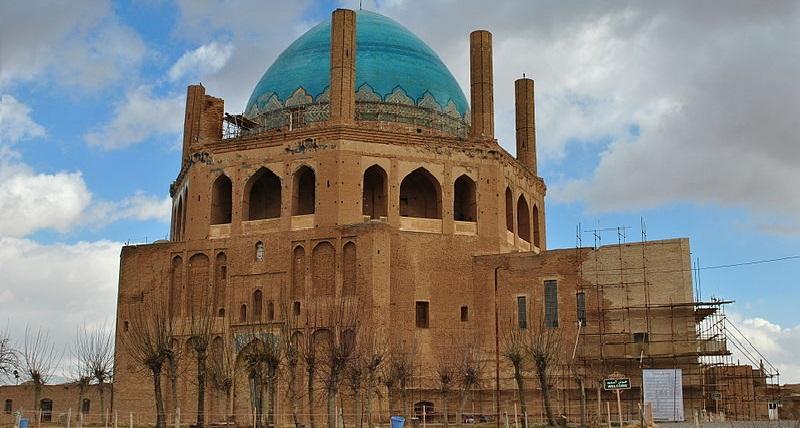 Soltaniyeh-dome-zanjan Iran World Heritage Sites Uncategorized Iran World Heritage Sites Iran Culture