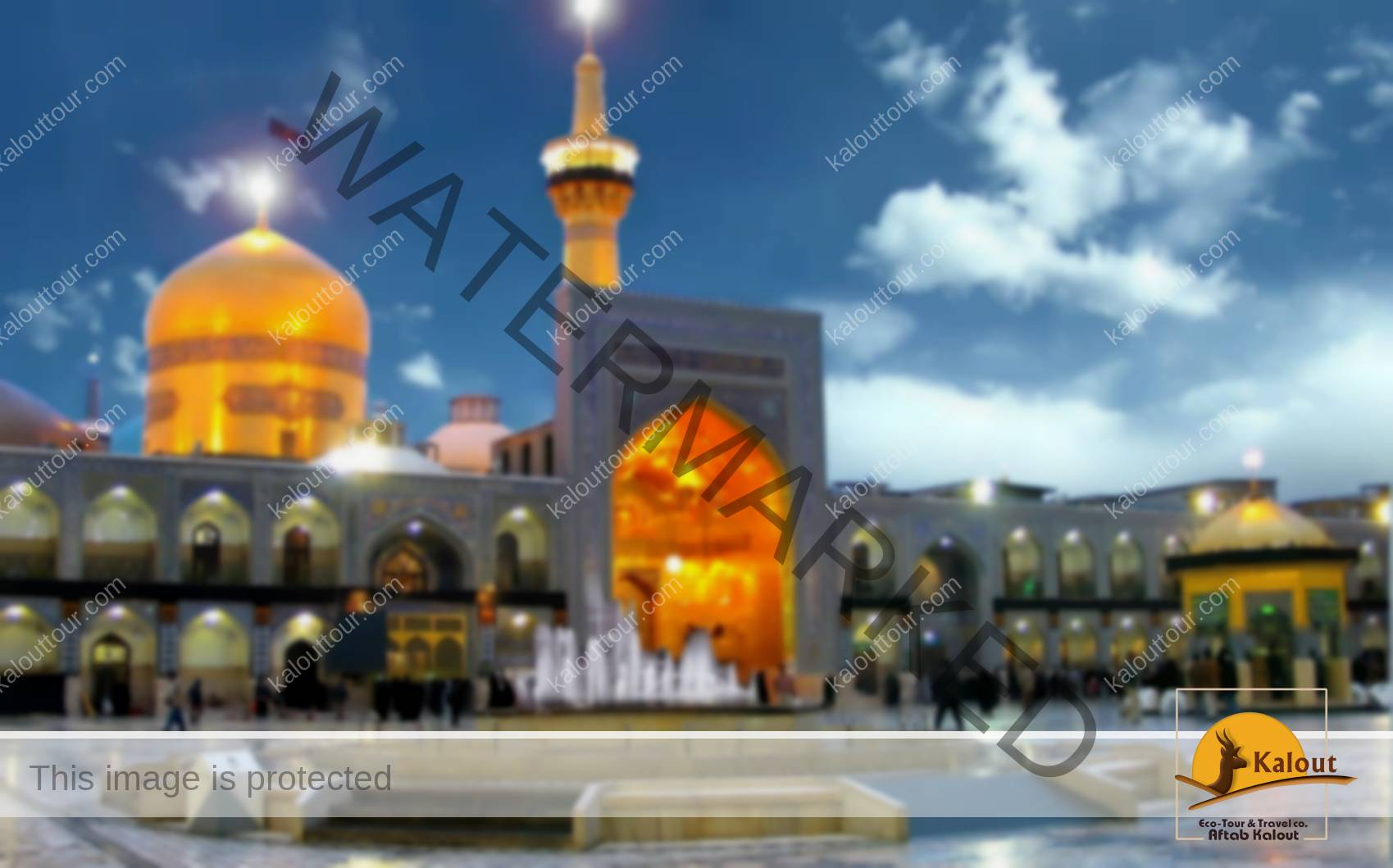 اعتکاف علمی نوروز مشهد بنر ثبت نام اعتکاف از مسجدنما.