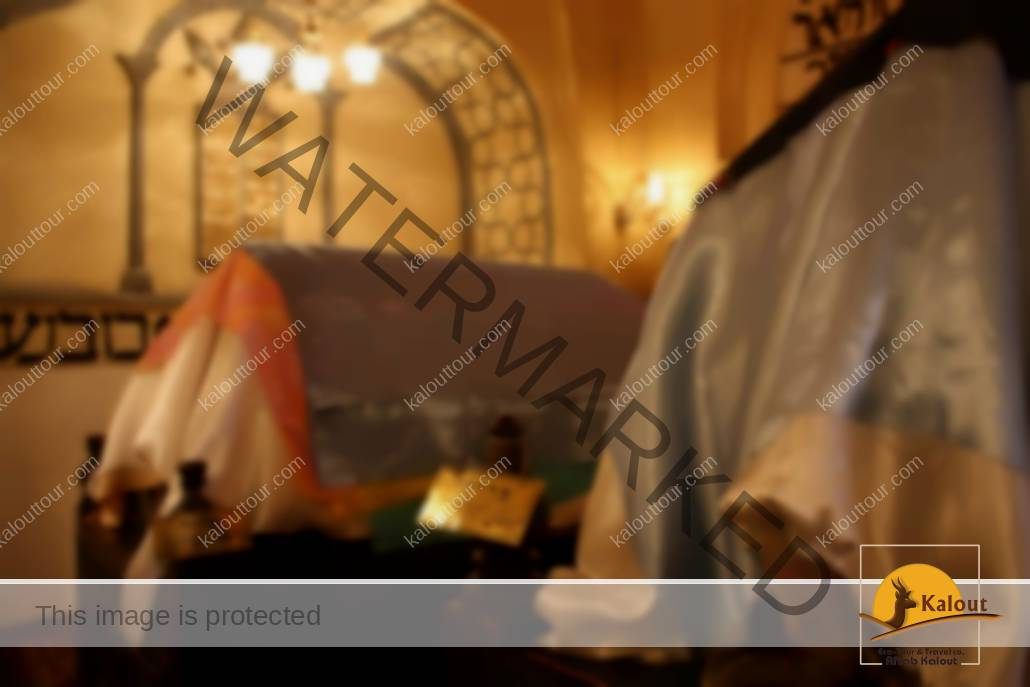 Inside View of Tomb